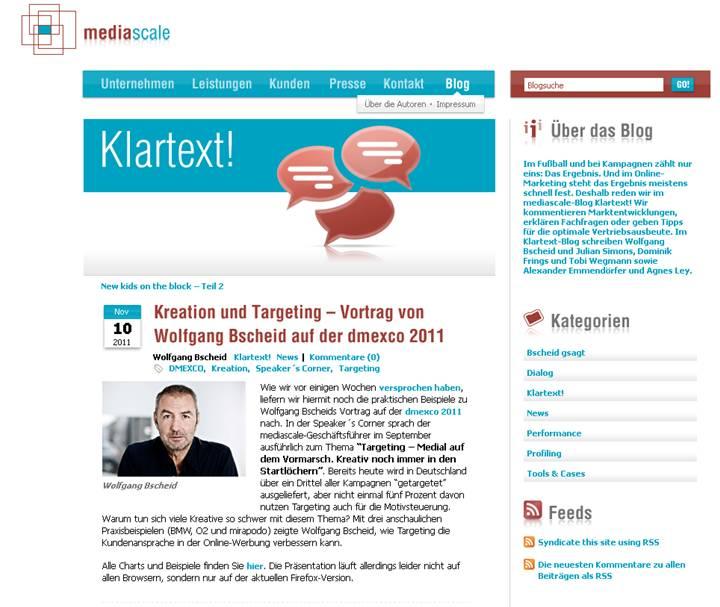 Klartext-Blog